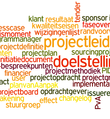 Projectmanagementtermen
